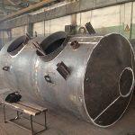 Изготовление резервуаров и емкостей стальных